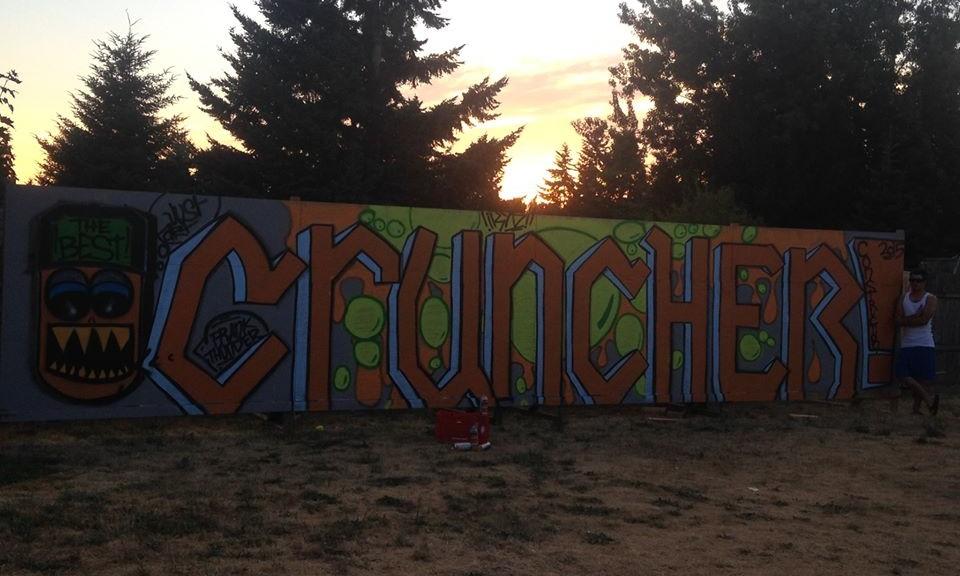 Cruncher Wall Art!